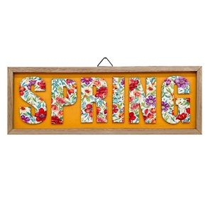 New The Pioneer Woman Floral Spring Sign